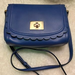 Kate spade Crossbody - blue scalloped Zani